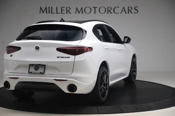 New 2020 Alfa Romeo Stelvio Ti Sport Q4 for sale $56,495 at Maserati of Greenwich in Greenwich CT 06830 7