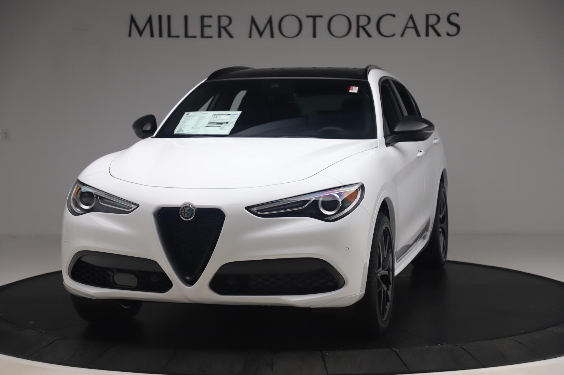 New 2020 Alfa Romeo Stelvio Ti Sport Q4 for sale $56,495 at Maserati of Greenwich in Greenwich CT 06830 1