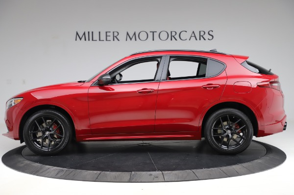 New 2020 Alfa Romeo Stelvio Ti Sport Q4 for sale $54,195 at Maserati of Greenwich in Greenwich CT 06830 2
