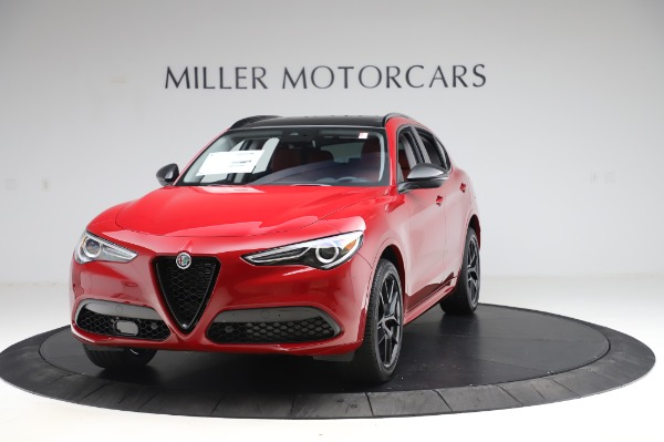 New 2020 Alfa Romeo Stelvio Ti Sport Q4 for sale $54,195 at Maserati of Greenwich in Greenwich CT 06830 1