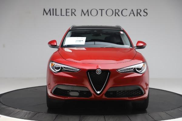 New 2020 Alfa Romeo Stelvio Ti Lusso Q4 for sale $56,495 at Maserati of Greenwich in Greenwich CT 06830 12