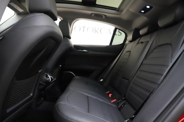 New 2020 Alfa Romeo Stelvio Ti Lusso Q4 for sale $56,495 at Maserati of Greenwich in Greenwich CT 06830 21