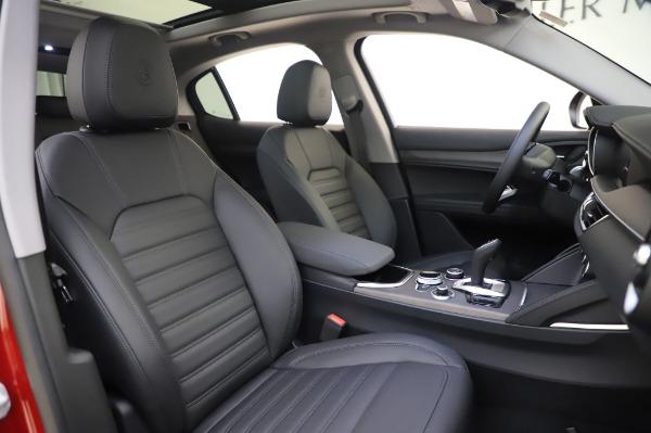 New 2020 Alfa Romeo Stelvio Ti Lusso Q4 for sale $56,495 at Maserati of Greenwich in Greenwich CT 06830 24