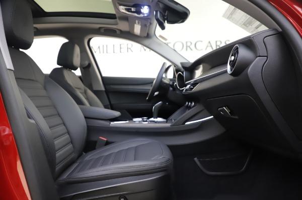 New 2020 Alfa Romeo Stelvio Ti Lusso Q4 for sale $56,495 at Maserati of Greenwich in Greenwich CT 06830 25