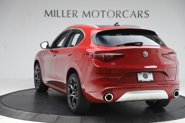 New 2020 Alfa Romeo Stelvio Ti Lusso Q4 for sale $56,495 at Maserati of Greenwich in Greenwich CT 06830 5