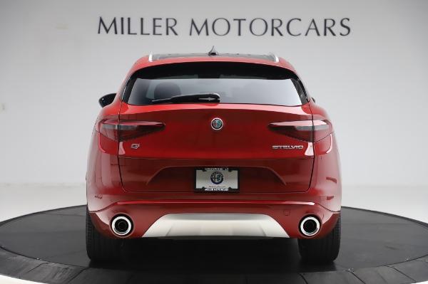 New 2020 Alfa Romeo Stelvio Ti Lusso Q4 for sale $56,495 at Maserati of Greenwich in Greenwich CT 06830 6