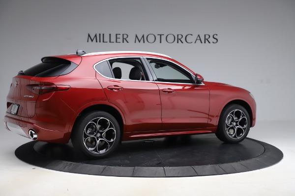 New 2020 Alfa Romeo Stelvio Ti Lusso Q4 for sale $56,495 at Maserati of Greenwich in Greenwich CT 06830 8