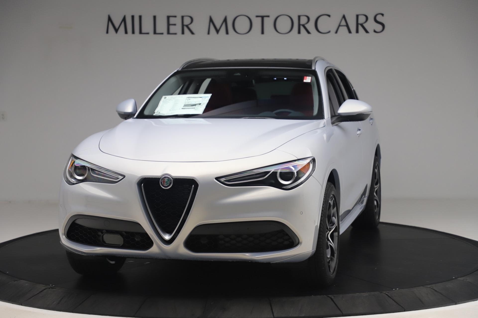 New 2020 Alfa Romeo Stelvio Ti Lusso Q4 for sale $54,145 at Maserati of Greenwich in Greenwich CT 06830 1