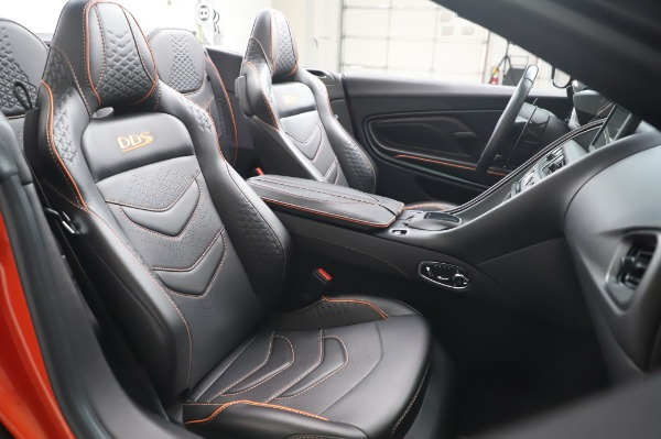 Used 2020 Aston Martin DBS Superleggera Volante for sale $339,800 at Maserati of Greenwich in Greenwich CT 06830 25