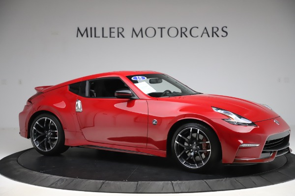 Used 2018 Nissan 370Z NISMO Tech for sale $39,900 at Maserati of Greenwich in Greenwich CT 06830 8