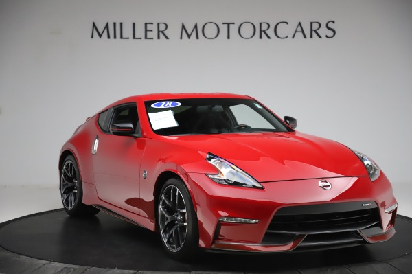Used 2018 Nissan 370Z NISMO Tech for sale $39,900 at Maserati of Greenwich in Greenwich CT 06830 9