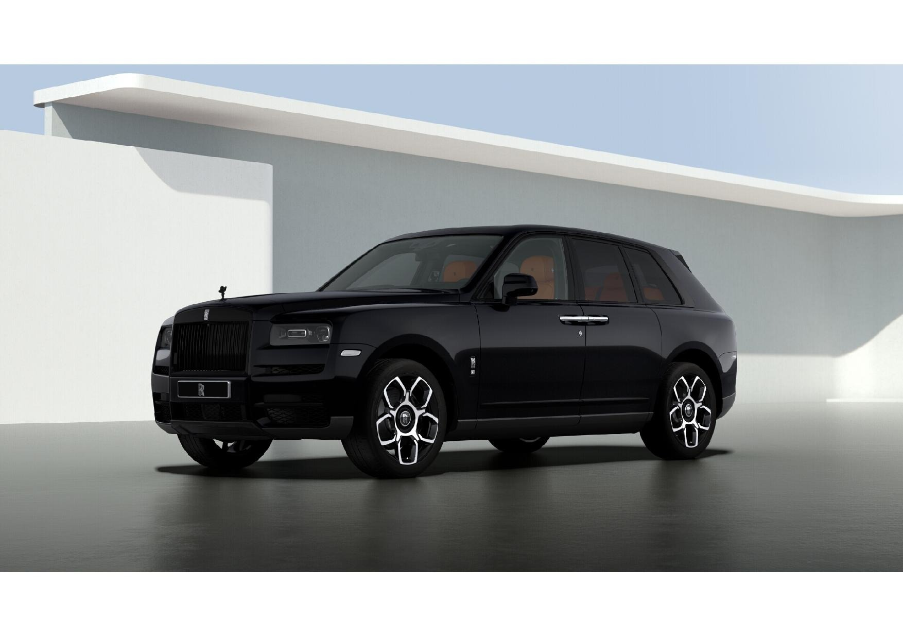 New 2021 Rolls-Royce Cullinan Black Badge for sale $433,225 at Maserati of Greenwich in Greenwich CT 06830 1