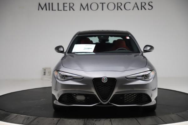 New 2020 Alfa Romeo Giulia Ti Sport Q4 for sale $48,595 at Maserati of Greenwich in Greenwich CT 06830 12