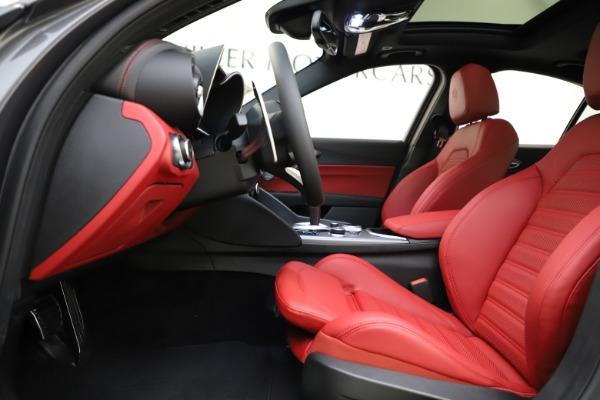New 2020 Alfa Romeo Giulia Ti Sport Q4 for sale $48,595 at Maserati of Greenwich in Greenwich CT 06830 14