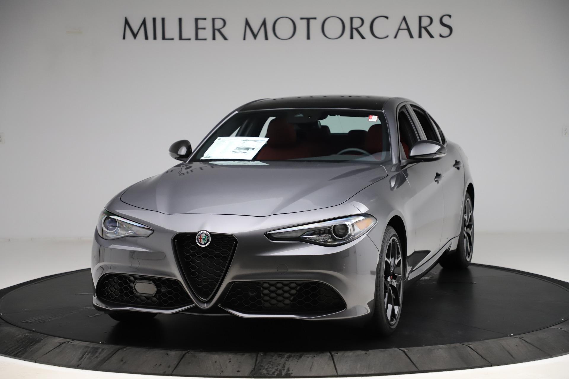 New 2020 Alfa Romeo Giulia Ti Sport Q4 for sale $53,595 at Maserati of Greenwich in Greenwich CT 06830 1