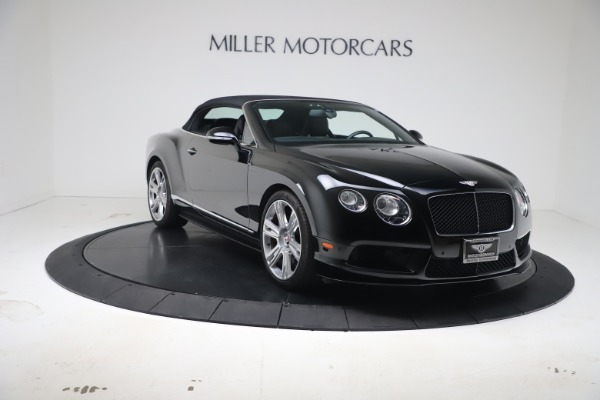Used 2014 Bentley Continental GTC V8 S for sale $109,900 at Maserati of Greenwich in Greenwich CT 06830 19