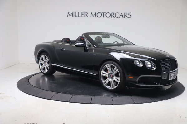 Used 2014 Bentley Continental GT Convertible V8 S for sale $109,900 at Maserati of Greenwich in Greenwich CT 06830 9