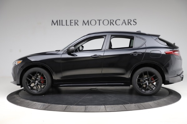 New 2020 Alfa Romeo Stelvio Ti Q4 for sale $52,445 at Maserati of Greenwich in Greenwich CT 06830 3