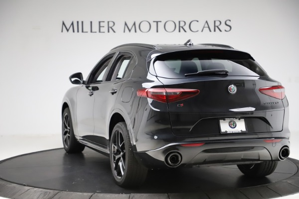 New 2020 Alfa Romeo Stelvio Ti Q4 for sale $52,445 at Maserati of Greenwich in Greenwich CT 06830 5
