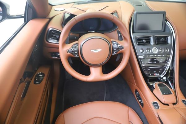 New 2020 Aston Martin DBS Superleggera Volante for sale $375,916 at Maserati of Greenwich in Greenwich CT 06830 19