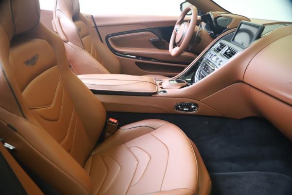 New 2020 Aston Martin DBS Superleggera Volante for sale $375,916 at Maserati of Greenwich in Greenwich CT 06830 22