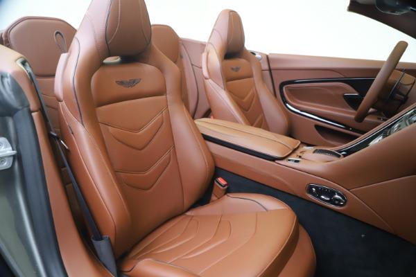 New 2020 Aston Martin DBS Superleggera Volante for sale $375,916 at Maserati of Greenwich in Greenwich CT 06830 24