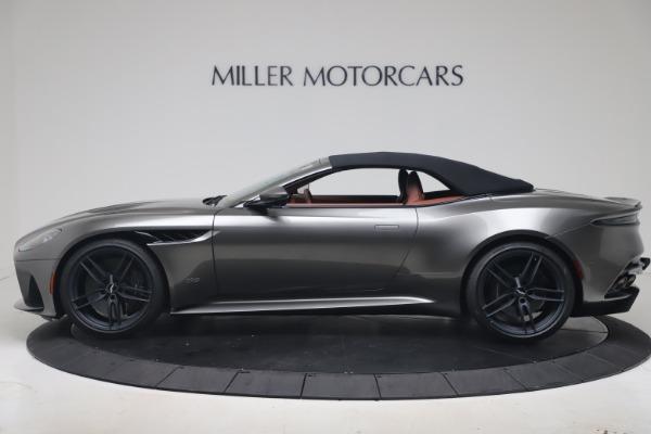 New 2020 Aston Martin DBS Superleggera Volante for sale $375,916 at Maserati of Greenwich in Greenwich CT 06830 27