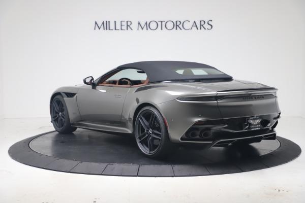 New 2020 Aston Martin DBS Superleggera Volante for sale $375,916 at Maserati of Greenwich in Greenwich CT 06830 28