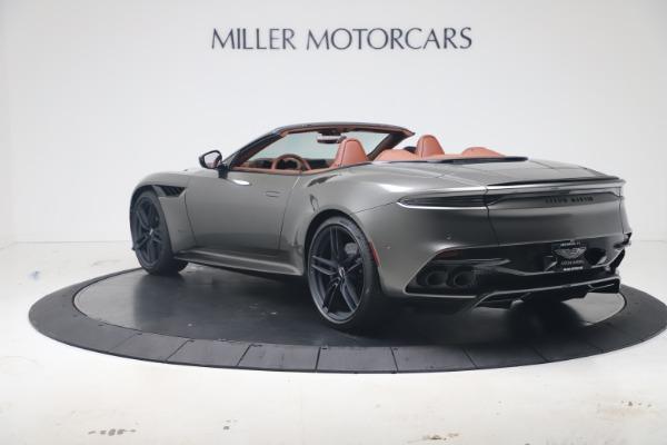 New 2020 Aston Martin DBS Superleggera Volante for sale $375,916 at Maserati of Greenwich in Greenwich CT 06830 4