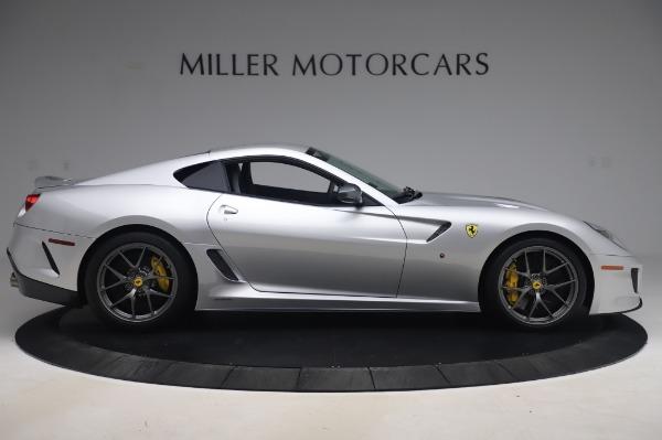 Used 2011 Ferrari 599 GTO for sale Sold at Maserati of Greenwich in Greenwich CT 06830 9