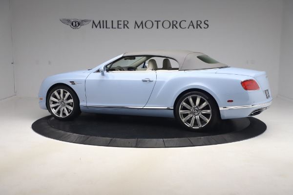 Used 2017 Bentley Continental GT Convertible W12 for sale $169,900 at Maserati of Greenwich in Greenwich CT 06830 17