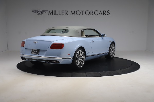 Used 2017 Bentley Continental GT Convertible W12 for sale $169,900 at Maserati of Greenwich in Greenwich CT 06830 20