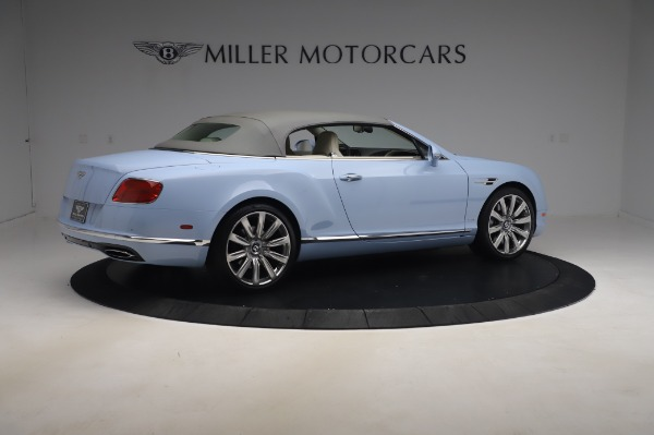 Used 2017 Bentley Continental GT Convertible W12 for sale $169,900 at Maserati of Greenwich in Greenwich CT 06830 21