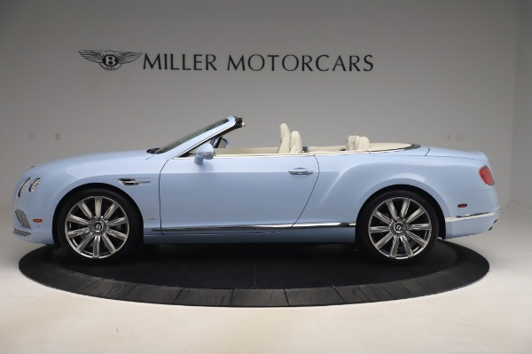 Used 2017 Bentley Continental GT Convertible W12 for sale $169,900 at Maserati of Greenwich in Greenwich CT 06830 3
