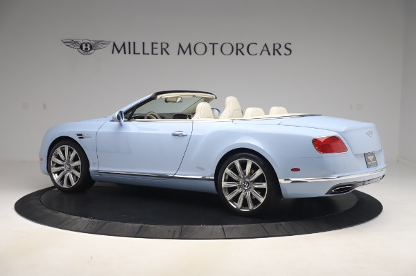 Used 2017 Bentley Continental GT Convertible W12 for sale $169,900 at Maserati of Greenwich in Greenwich CT 06830 4