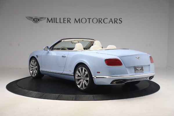 Used 2017 Bentley Continental GT Convertible W12 for sale $169,900 at Maserati of Greenwich in Greenwich CT 06830 5