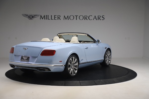 Used 2017 Bentley Continental GT Convertible W12 for sale $169,900 at Maserati of Greenwich in Greenwich CT 06830 8