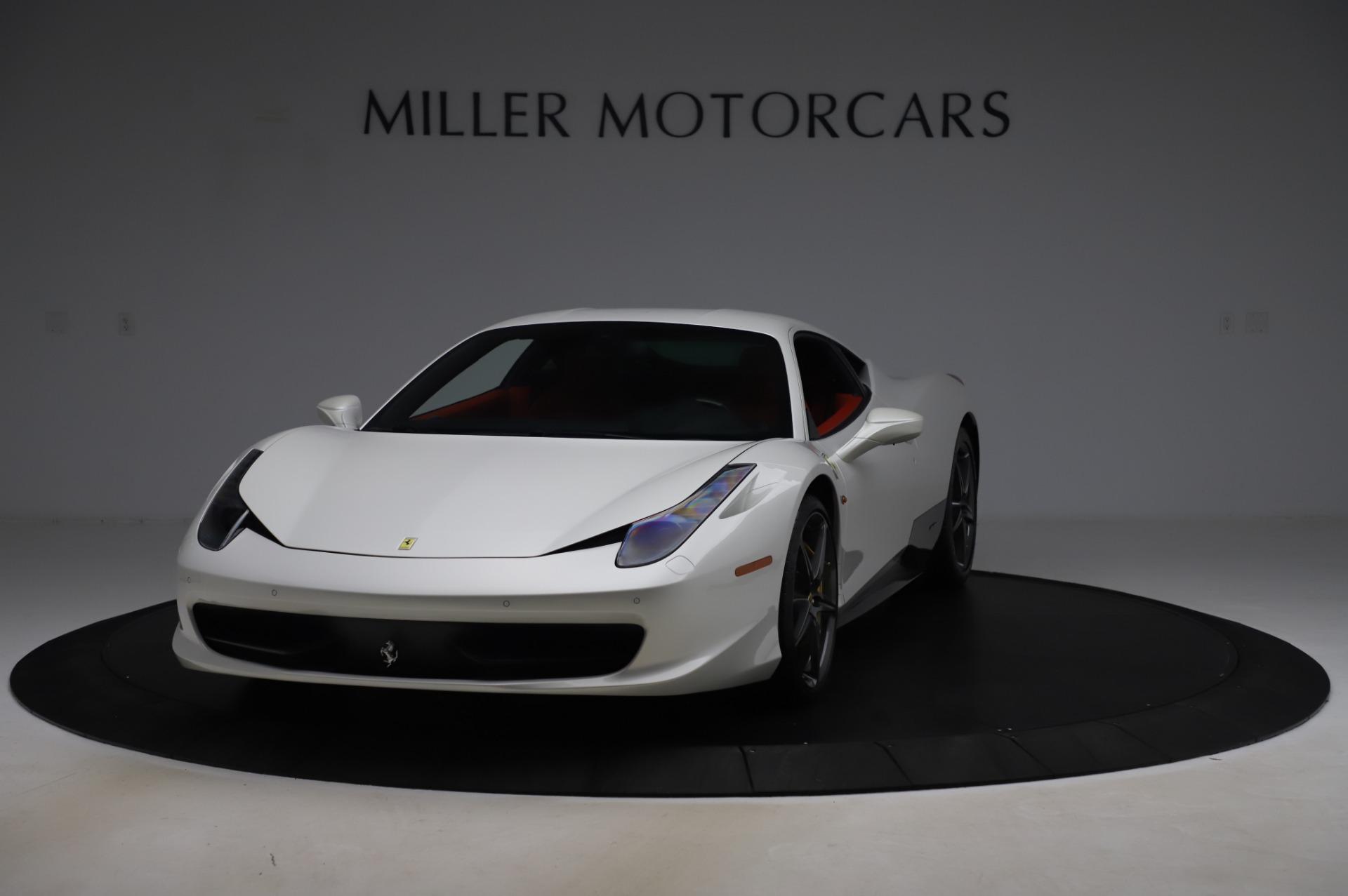 Used 2013 Ferrari 458 Italia for sale Sold at Maserati of Greenwich in Greenwich CT 06830 1