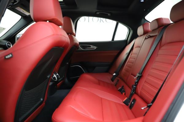 New 2020 Alfa Romeo Giulia Ti Sport Q4 for sale Sold at Maserati of Greenwich in Greenwich CT 06830 17