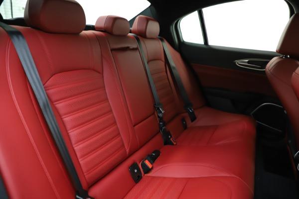 New 2020 Alfa Romeo Giulia Ti Sport Q4 for sale Sold at Maserati of Greenwich in Greenwich CT 06830 22