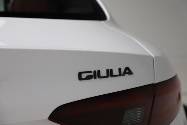 New 2020 Alfa Romeo Giulia Ti Sport Q4 for sale Sold at Maserati of Greenwich in Greenwich CT 06830 27