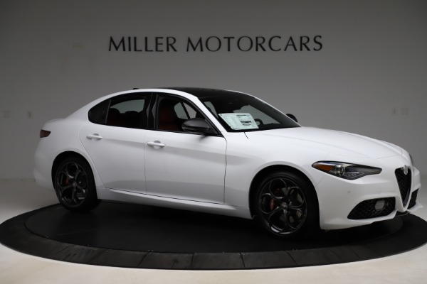 New 2020 Alfa Romeo Giulia Ti Sport Q4 for sale Sold at Maserati of Greenwich in Greenwich CT 06830 10