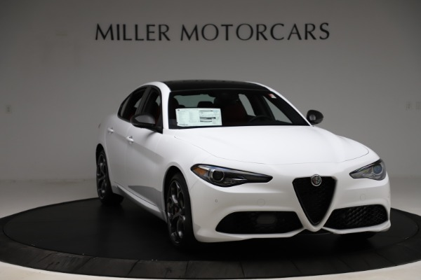 New 2020 Alfa Romeo Giulia Ti Sport Q4 for sale Sold at Maserati of Greenwich in Greenwich CT 06830 11