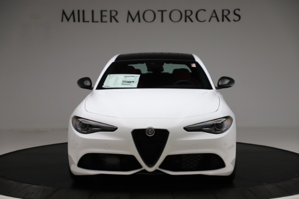 New 2020 Alfa Romeo Giulia Ti Sport Q4 for sale Sold at Maserati of Greenwich in Greenwich CT 06830 12