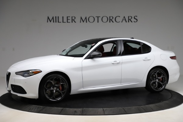 New 2020 Alfa Romeo Giulia Ti Sport Q4 for sale Sold at Maserati of Greenwich in Greenwich CT 06830 2