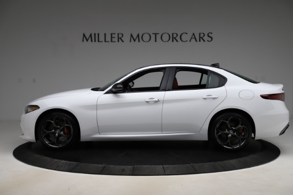 New 2020 Alfa Romeo Giulia Ti Sport Q4 for sale $52,395 at Maserati of Greenwich in Greenwich CT 06830 3