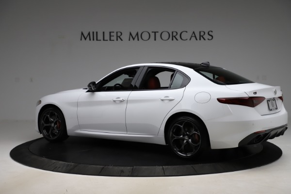 New 2020 Alfa Romeo Giulia Ti Sport Q4 for sale Sold at Maserati of Greenwich in Greenwich CT 06830 4