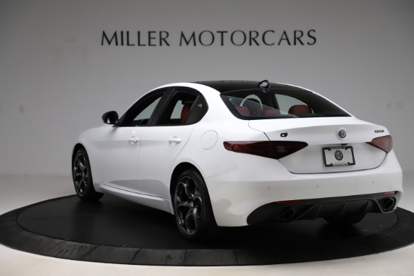 New 2020 Alfa Romeo Giulia Ti Sport Q4 for sale $52,395 at Maserati of Greenwich in Greenwich CT 06830 5