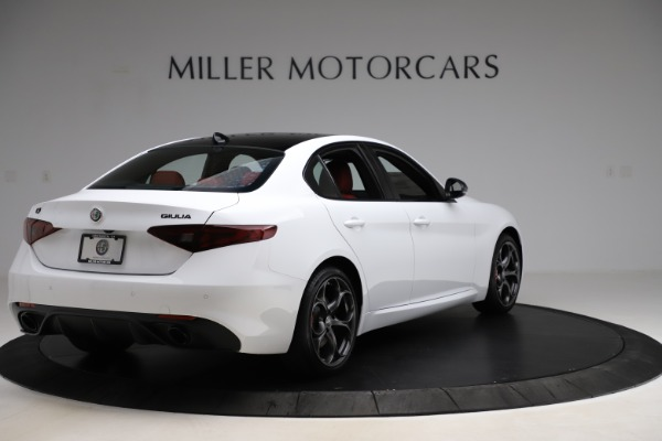 New 2020 Alfa Romeo Giulia Ti Sport Q4 for sale Sold at Maserati of Greenwich in Greenwich CT 06830 7