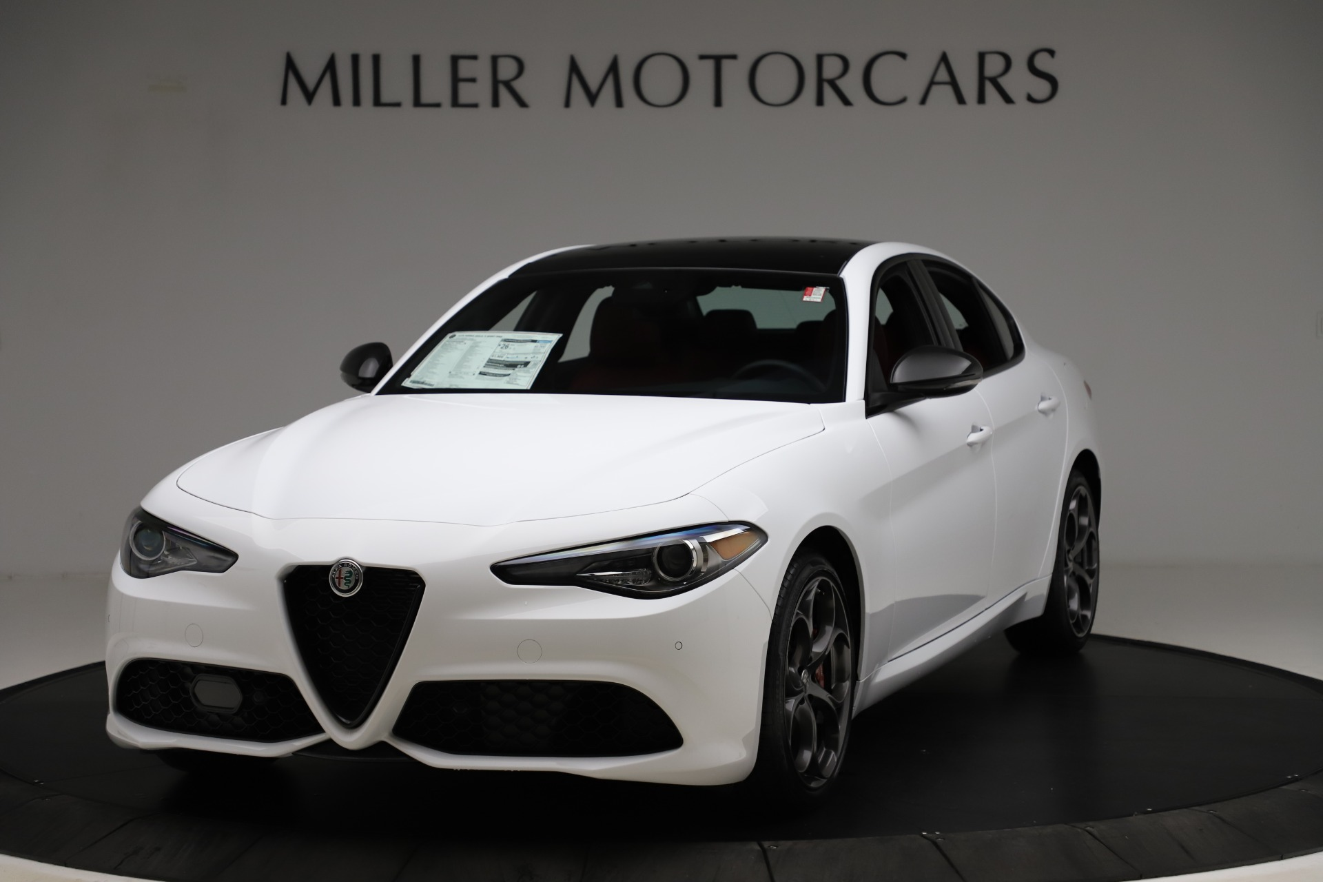 New 2020 Alfa Romeo Giulia Ti Sport Q4 for sale $52,395 at Maserati of Greenwich in Greenwich CT 06830 1